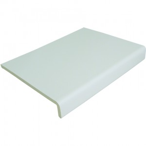300mm x 9mm Universal Cover Board White 2.5m | Fascia Board | Fascia | Rockwell Building Plastic | Fascia and Accessories