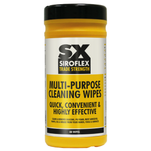 Multi Purpose Cleaning Wipes Pack of 80 | Rockwell Building Plastics