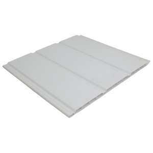 300mm Hollow Soffit White 3m Hollow Soffit Board by Rockwell Building Plastics | Soffit and Accessories | Soffit Board | Roofline | Roofing