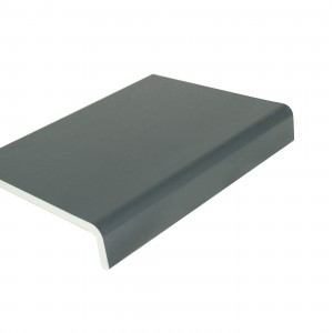 225mm x 9mm Universal Cover Board Anthracite Grey 2.5m | Fascia Board | Fascia | Rockwell Building Plastic | Fascia and Accessories