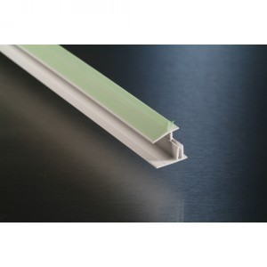 2-part Capping Strip for Pastel PVC Cladding in 3.05m length | Rockwell Building Plastics
