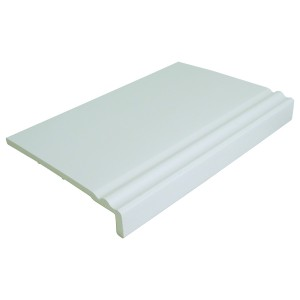 Ogee style Fascia cover board | Rockwell Building Plastics