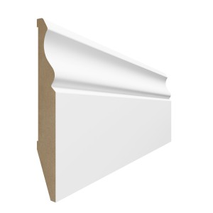 Vox Evera MDF lightweight low maintenance skirting board | Rockwell Building Plastics