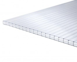 16mm Clear  Triplwall Polycarbonate 6m x 2100mm