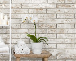 Vox Motivo Interior Wall Cladding Rusty Brick 250mm x 2.65m