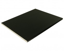 Multi Purpose Universal Flat Board 454mm x 10mm Black Ash 2.5m long | Soffit Boards | Flat Board | Multi-Purpose | Floplast | Multi Purpose Board | Roofline | Roofline Accessories | White Board | Triple Plank Soffit | Starter Trim | H Trim | Class 1 Fire