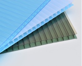 10mm Twinwall Polycarbonate 2.5m x 1050mm